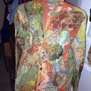 Vintage Chico Jackets. I have lots of treasures.